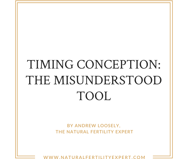 Timing Conception: The Misunderstood Tool