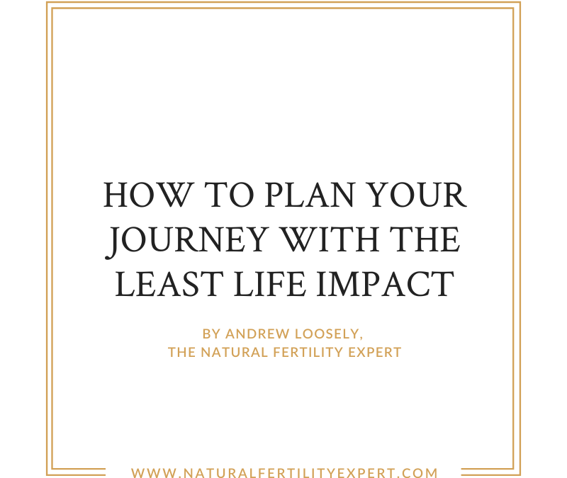 How to plan your journey with the least life impact
