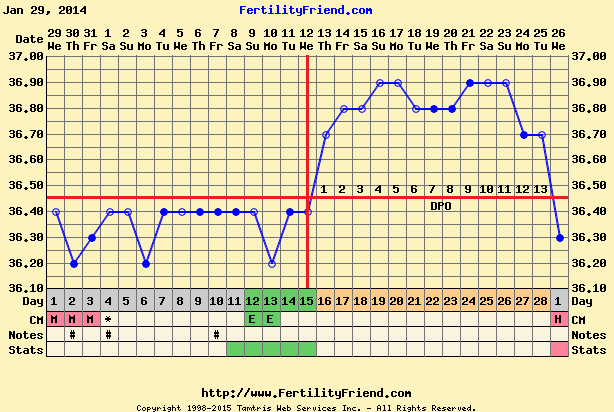 BBT Chart Images – Fertility Question Time